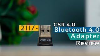 CSR 4.0 bluetooth Adapter Review | Cheapest Bluetooth Adapter For PC 2019