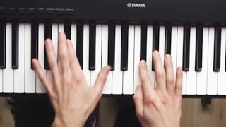 How To Play Unfaithful Rihanna Piano Tutorial