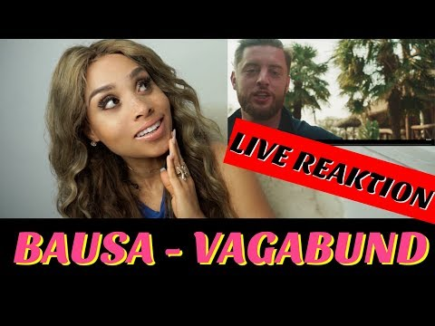 Bausa - Vagabund (Official Music Video) [prod. by Bausa, Jugglerz & The Cratez] live Reaktion