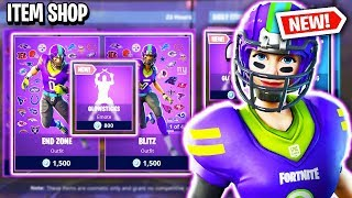 NFL SKINS & NEW GLOWSTICKS EMOTE! Fortnite Item Shop! Daily & Featured Items! (Feb 1st/Feb 2nd)