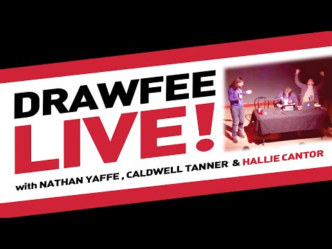 Celebrity Hell Date with Hallie Cantor - Drawfee LIVE 01