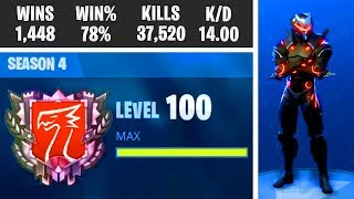 "WORLD'S FIRST LEVEL 100! -Is there a secret Unlock? -""Fortnite Suomi"" news"