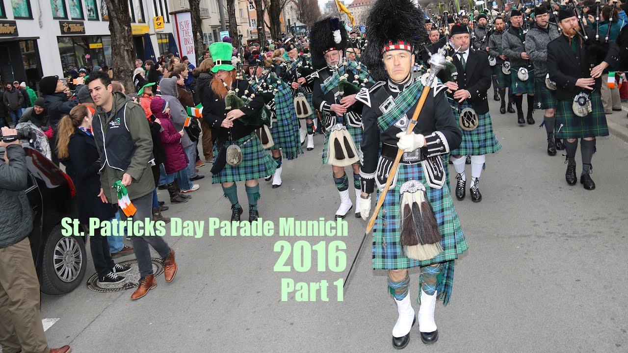 2016 st patricks day parade munich part 1