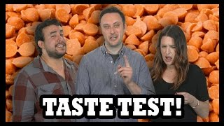 Carrot Cake Candy Corn Taste Test - Food Feeder