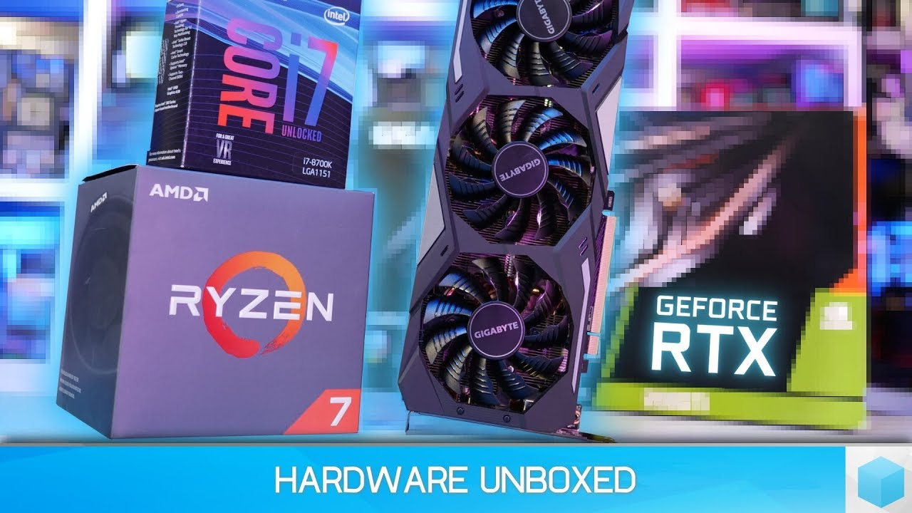 GeForce RTX 2080 Ti, Ryzen 7 2700X vs  Core i7-8700K Gaming Benchmark