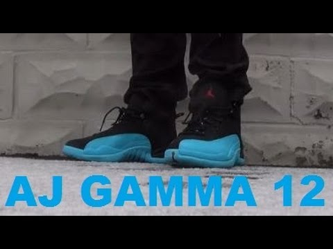 08a70d5896b5 Air Jordan 12 XII Gamma Blue Sneaker Review + On Feet With Dj Delz ...