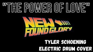 New Found Glory - The Power Of Love Tyler Schoening Electric Drum C...