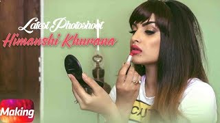 Himanshi Khurana Latest Photoshoot Making Video | Behind The Scene | Speed Records