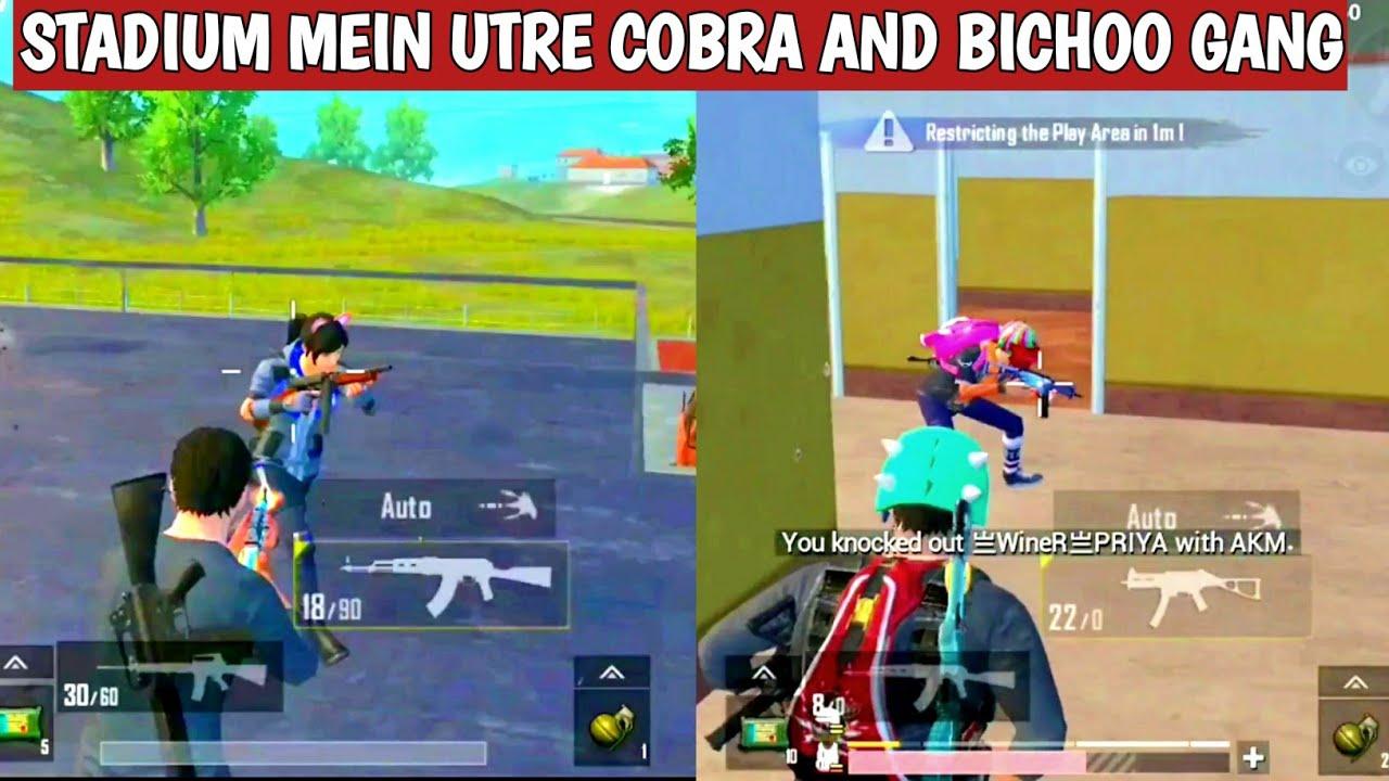 FUNNY PUBG LITE GANG WAR COBRA VS BICHOO SHORTS FUNNY WHATSAPP MOMENTS VIDEO CARTOONFREAK #SHORTS