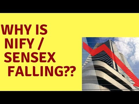 Why Is Nifty / Sensex Falling From Feb 1st 2018