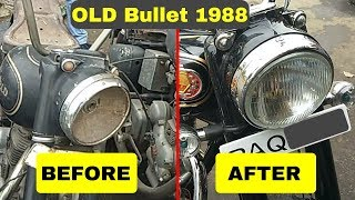 Old Bullet Restoration || Old vs New Bullet || Old Bullet Renew ||1988.