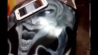 Airbrush Skecth Joker/Clown