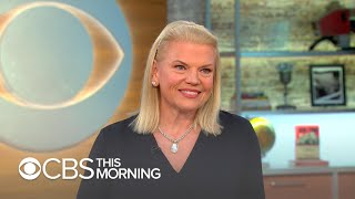 "IBM CEO Ginni Rometty hopes ""new collar"" skills will bridge digital, AI divide"