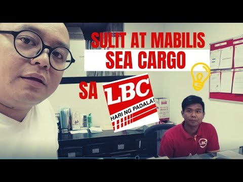 HOW TO SEND SEA CARGO FAST AND EFFICIENT FROM DUBAI TO PHILIPPINES (Tagalog)
