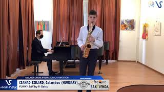 Galambos Csanad Szilard – Funky Sax by Philippe Geiss