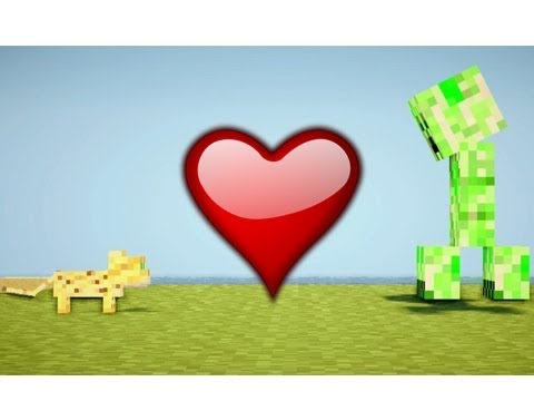 ocelot loves creeper minecraft machinima youtube