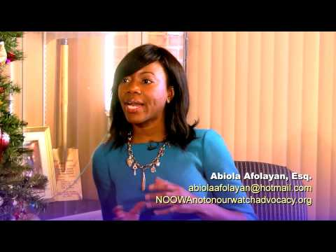 Chat with A Lawyer - Abiola Afolayan - Combating Human Trafficking