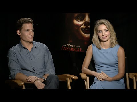 ANNABELLE: Interview with Annabelle Wallis and Ward Horton