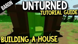 Unturned How To Build A House, Build A Base, Best Base Location!