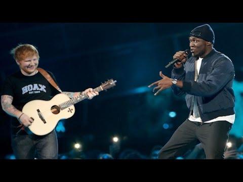 BRIT Awards 2017- Ed Sheeran's Performance At The 2017 BRIT Awards Was Spectacular