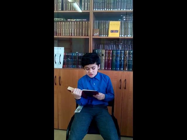 Изображение предпросмотра прочтения – СаидабубакрСаидзода читает произведение «Обломов» И.А.Гончарова