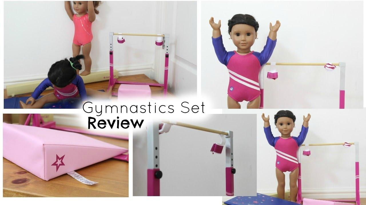 5a4927e4b Gymnastics Set Review - American Girl - YouTube
