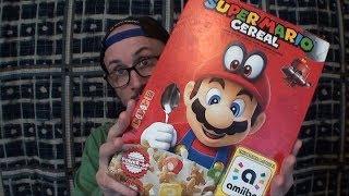 Brad Tries Super Mario Cereal
