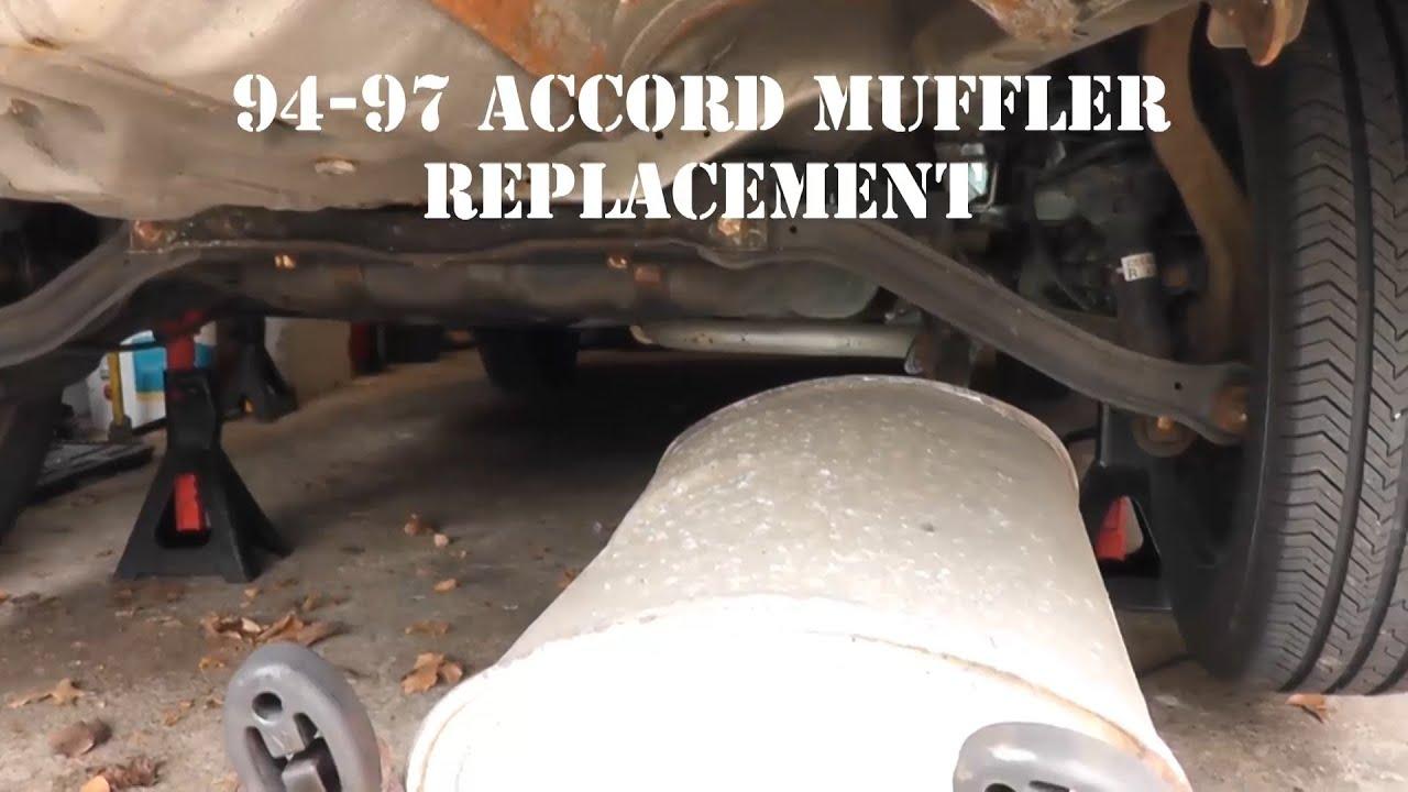 94 97 honda accord muffler replacement youtube pooptronica