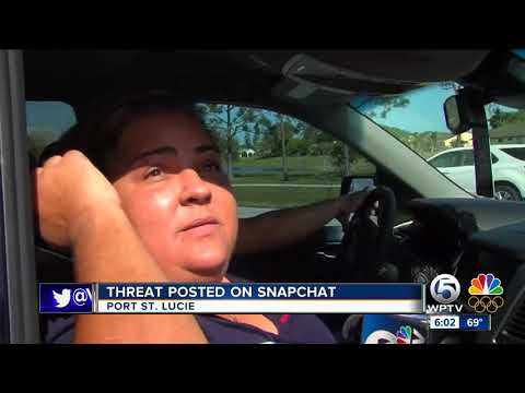 Threat to Port St. Lucie school posted on Snapchat