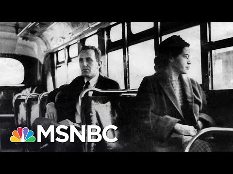 Racial Inequality In U.S., 65 Years After Rosa Parks' Montgomery Bus Boycott | The Last Word | MSNBC