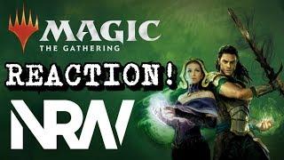 Magic The Gathering: War of the Spark! NRW Trailer Reaction! #NRW! #NerdsRuleTheWorld!