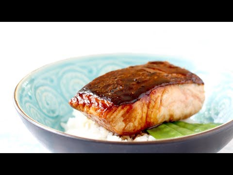 Salmon Teriyaki - How To Make Salmon Teriyaki With 3 Ingredients In 10 Min