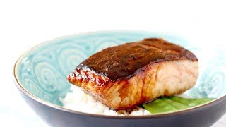 Salmon Teriyaki - How to Make Salmon Teriyaki with 3 ingredients in 10 min