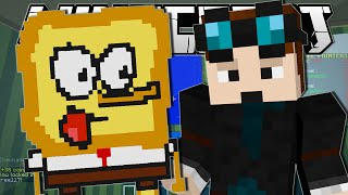 Minecraft | SPONGEBOB THE TOAST!! | Pixel Painters Minigame
