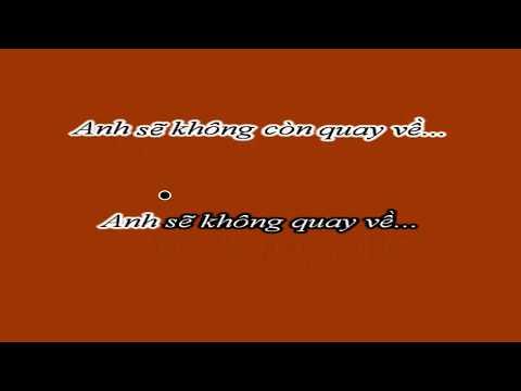 Câu Hỏi Dành Cho Anh Karaoke Beat