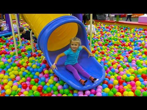 Indoor Playground for baby in Play Center  BuBuDu Kids