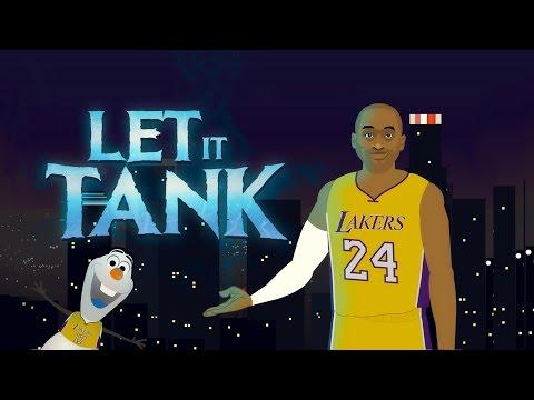 "Kobe Bryant ""Let it Go"" Frozen Parody (Let it Tank)"