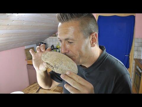 Basisches Brot backen Basenbrot lecker und gesund Vollkornbrot selber machen SUPER BEKÖMMLICH