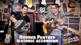 Hohner Panther Accordion Demo | AJ Castillo [Subtítulos Españoles]