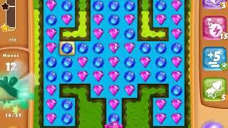 Diamond Digger Saga Level 1444 - NO BOOSTERS | SKILLGAMING ✔️