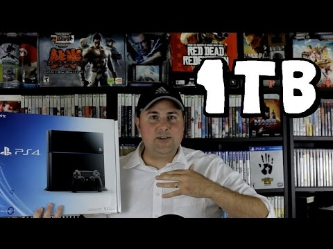 Is A 1TB Hard Drive On The PS4 Enough For Lots of Games?