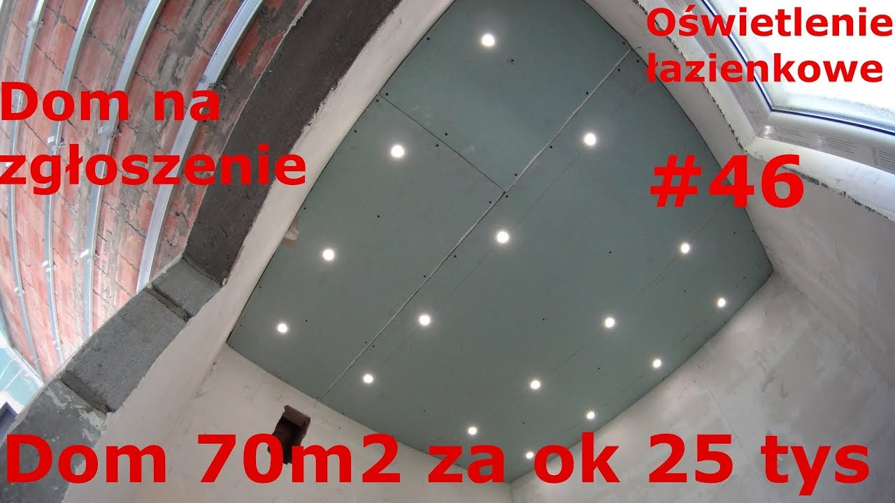 Oświetlenie łazienkowe Led Na Zgłoszenie Tani Dom Bez Pozwolenia Dom 70m2 Za 25tys 46 Pawełwaga