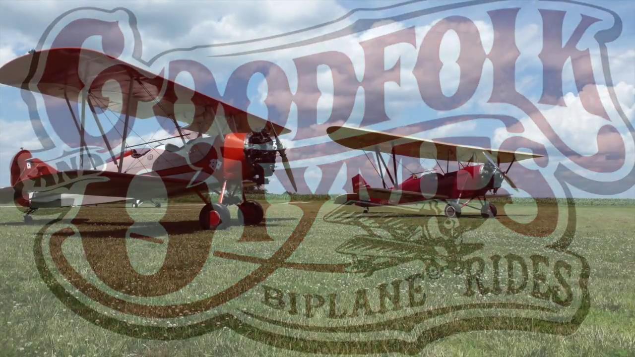It's a Barnstormers Life, Barnstorming Biplane Struggle