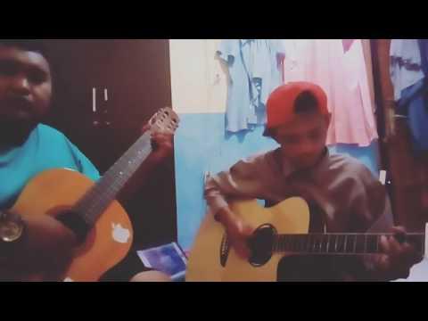 Cover Gitar - Kanggo Riko (60 second cover)