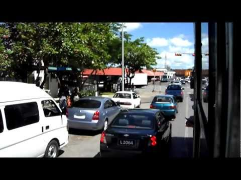 33 Bus Trip to Bridgetown from St. Lawrence Gap - 29th October 2012, Holiday 2012 (11:38)