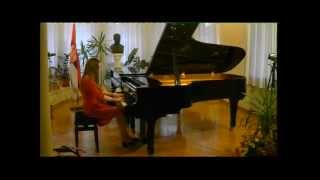 Sofija Damnjanović, L. van Beethoven: Sonata A-dur, I - Allegro vivace, No. 2, Op. 2