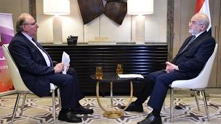 لقاء قناة روسيا اليوم مع الدكتور ابراهيم الجعفري وزير خارجية العراق في ابو ظبي