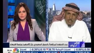 السوق السعودي يستمر في معاناته بسبب تقلب اسعار النفط العالمية