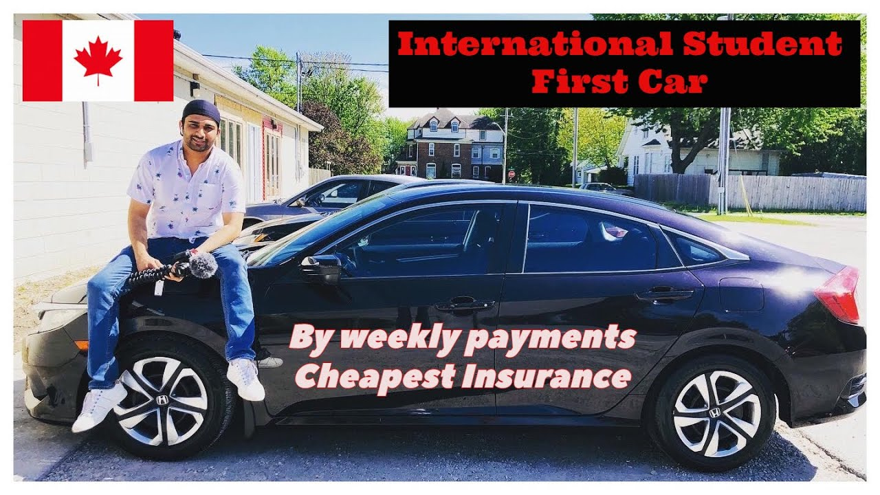 Buying my first Car Canada | Cheapest Car Insurance - YouTube