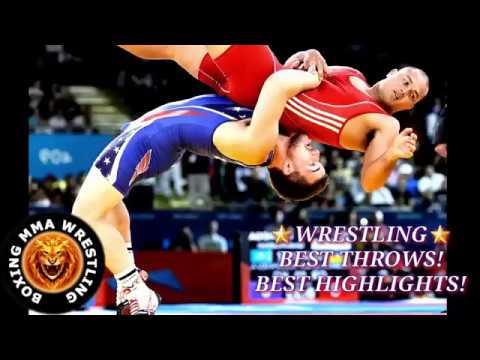 Wrestling! Best Throws! Best Highlights!   YouTube 360p